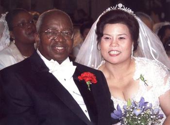 Milingo e sua esposa